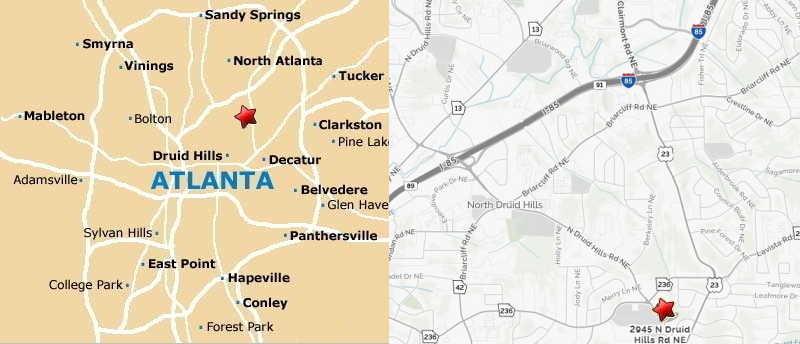 ALDA Peach (Atlanta) Directions